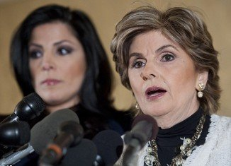 Natalie Khawam, Lebanese-born twin sister of Jill Kelley, appeared at a press conference alongside celebrity lawyer Gloria Allred