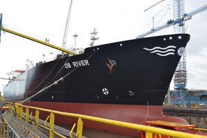 Ob River, a large tanker carrying liquefied natural gas, is set to become the first ship of its type to sail across the Arctic