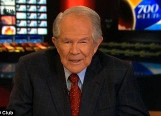 Pat Robertson, who is host of the Christian current events TV show The 700 Club, seemed to justify David Petraeus' relationship with Paula Broadwell