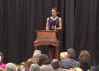 Paula Broadwell leaked secret details of Benghazi attack while speaking at the University of Denver on October 26
