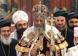 Pope Tawadros II, the new leader of Egypt's Coptic Christian church, has been formally enthroned in Cairo