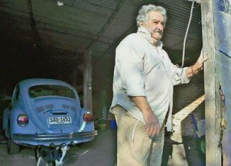 President Jose Mujica has shunned the luxurious house that the Uruguayan state provides for its leaders and opted to stay at his wife's farmhouse, off a dirt road outside the capital, Montevideo