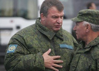 President Vladimir Putin has dismissed Defense Minister Anatoly Serdyukov after his ministry was caught up in a corruption scandal.