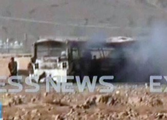 At least nineteen Shia Muslim pilgrims have been killed by a bomb attack on a bus convoy in southwest Pakistan