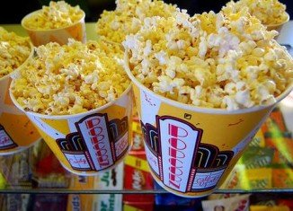 Cinema popcorn is often doused in coconut oil and chemicals to give it that irresistible aroma
