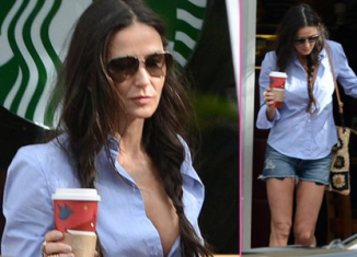 Demi Moore has been dumped by her latest toyboy Vito Schnabel