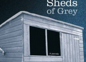 Fifty Sheds of Grey, a clever parody of this year's most talked about racy novel, Fifty Shades of Grey, has been out-selling the original in recent weeks