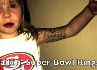 Five-year-old Sarah Redden has secured a burgeoning fan base after releasing a rap tribute to NFL star Colin Kaepernick