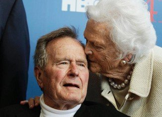 Former President George H. W. Bush's condition has improved, allowing him to be moved out after nearly a week in intensive care