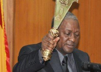 Ghana's incumbent President John Mahama has been won presidential election