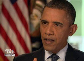 In an interview with NBC's Meet the Press, Barack Obama voiced skepticism about proposals to place armed guards at schools in the aftermath of the December 14th deadly assault in Connecticut which claimed the lives of 20 first graders and six teachers