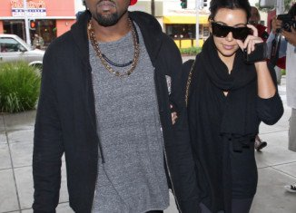 Kim Kardashian is expecting her first child with her boyfriend Kanye West