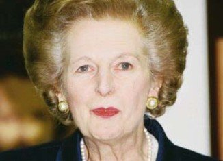 Margaret Thatcher is recovering in hospital after having a growth removed from her bladder