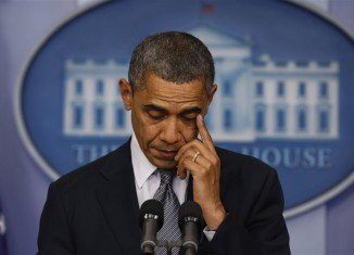 President Barack Obama today signaled he would push for tight gun control in the wake of the massacre of 26 at an elementary school in Connecticut