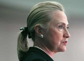 Secretary of State Hillary Clinton has been hospitalized in New York with a blood clot