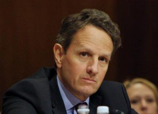 US treasury Secretary Timothy Geithner has said there will be no deal to avert a fiscal cliff unless Republicans accept a tax hike for the wealthy