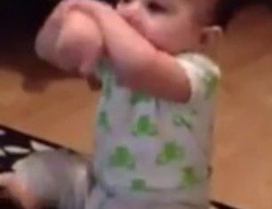 A video of a 7-month-old doing Psy's Gangnam Style hit the internet a week ago and is already getting thousands of views an hour