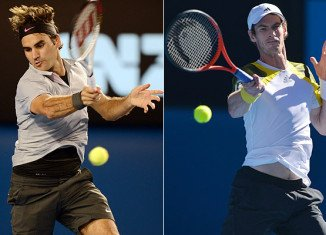 Andy Murray battled past Roger Federer in five sets to reach his third Australian Open and sixth Grand Slam final