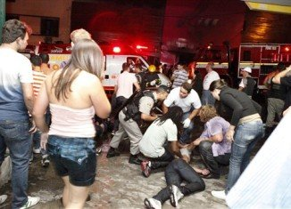 At least 232 people have died in a fire that swept through Kiss nightclub in university city Santa Maria in southern Brazil