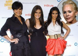 Ellen Kardashian, Robert Kardashian's widow, has fired back at stepdaughters Kim and Khloe, accusing them attacking her online with vicious lies