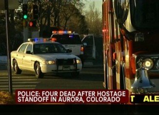 Four people have been found dead following a shooting incident that triggered a stand-off with police in Aurora, Colorado