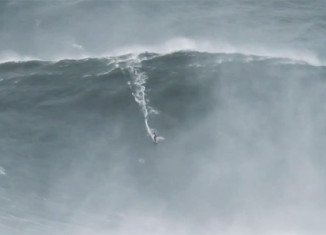 Garrett McNamara has ridden what may be the highest wave ever caught by a surfer, reportedly 100 ft high