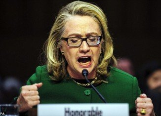 Hillary Clinton chokes up, bangs fist on table during Benghazi testimony