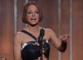 Jodie Foster was the talk of the Golden Globes after an emotional speech while accepting the Cecil B DeMille Award for lifetime achievement