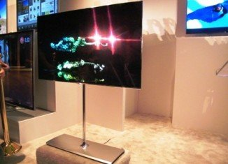LG has launched a 55 in OLED TV, kickstarting a battle over the next-generation of high-quality screens
