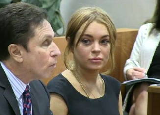 Lindsay Lohan appeared in court on Wednesday for a hearing relating to a lying to police and reckless driving over a car crash in June last year on Pacific Coast Highway