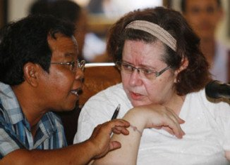 Lindsay Sandiford, a 56-year-old British grandmother, has been sentenced to death by firing squad in Indonesia for drug trafficking