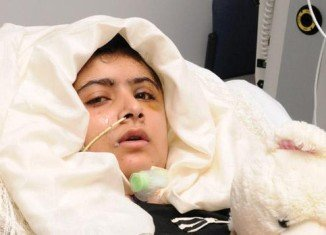 Malala Yousafzai, the Pakistani girl who was shot in the head by the Taliban, has been discharged from Queen Elizabeth Hospital in Birmingham as an inpatient
