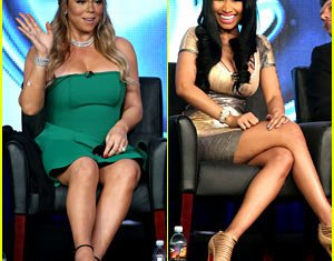 Mariah Carey and Nicki Minaj have revealed that their cat fighting on American Idol isn't an act, and their latest public snipe-fest is proof