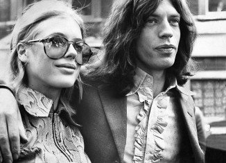 Mick Jagger and Marianne Faithfull in 1969
