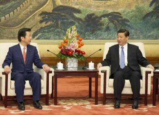 Natsuo Yamaguchi, an envoy for Japan's Prime Minister Shinzo Abe, has met China's leader Xi Jinping in Beijing, amid a growing territorial dispute