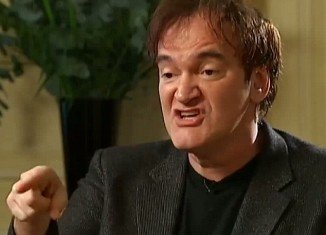 Quentin Tarantino launched an extraordinary tirade at Krishnan Guru-Murthy after refusing to answer questions about movie violence