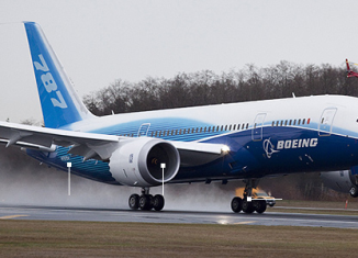 The Federal Aviation Administration ordered US airlines to stop using 787s temporarily after a battery fault caused an emergency landing in Japan
