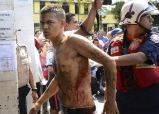 Urbina prison riot was triggered when local media broadcast news that soldiers had been sent to the prison in Barquisimeto to search for weapons