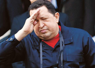 Venezuela's most senior political leaders are in Cuba to visit President Hugo Chavez, who is still in a serious condition after his latest cancer operation