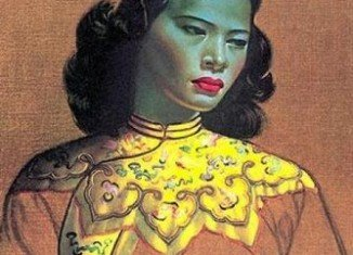 Vladimir Tretchikoff's original painting of the Chinese Girl, believed to be the world's most reproduced print, is to go on sale in London