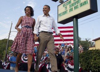 After First Lady Michelle Obama wore a red and white check dress by online fashion retailer ASOS.com last year it quickly became a sellout
