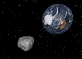 Asteroid 2012 DA14 has raced past the Earth at a distance of just 17,200 miles