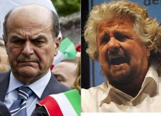Beppe Grillo, whose M5S defied expectations to come third in last weekend's elections, has ruled out a coalition with Pier Luigi Bersani's centre-left bloc
