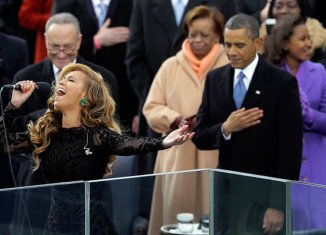Beyonce has admitted miming during her performance of the American national anthem at the inauguration of President Barack Obama last month