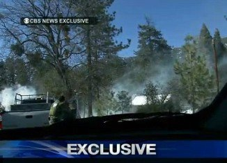 Christopher Dorner was believed to be hiding out in the cabin, which burned to the ground after a raging gun battle in which he killed one sheriff's deputy and wounded another