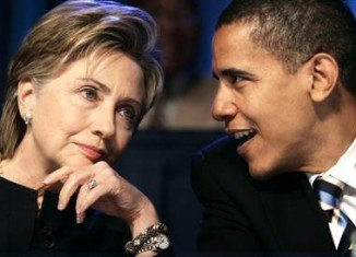 Hillary Clinton appears to be one of the most popular figures in Washington, even more popular then President Barack Obama himself
