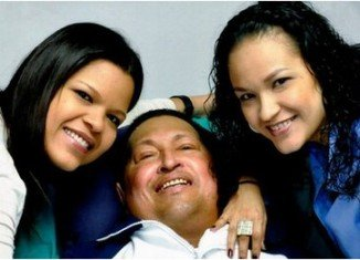 Hugo Chavez says he has returned to Venezuela after receiving treatment for cancer in Cuba