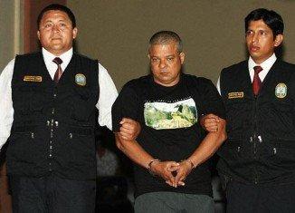 Jacinto Nicolas Fuentes German, who is suspected of being a leader of Colombia's Urabenos criminal gang, has been arrested in Peru