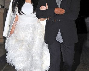 Kim Kardashian and Kanye West are making the most of their time together before Kim's July due date as they holiday in Brazil at Rio Carnival 2013