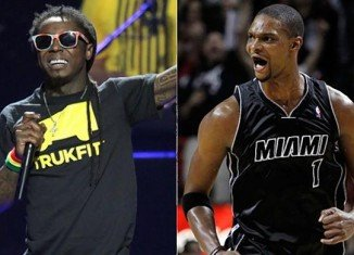 Lil Wayne told a packed audience that he bedded Adrienne Williams Bosh, the spouse of Chris Bosh